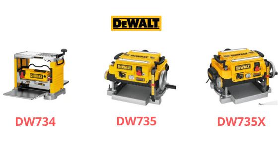 DeWalt DW734 VS DW735 VS DW735X: Comparative Analysis
