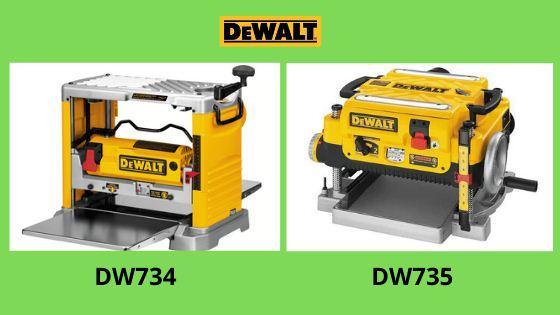 DW734 vs DW735