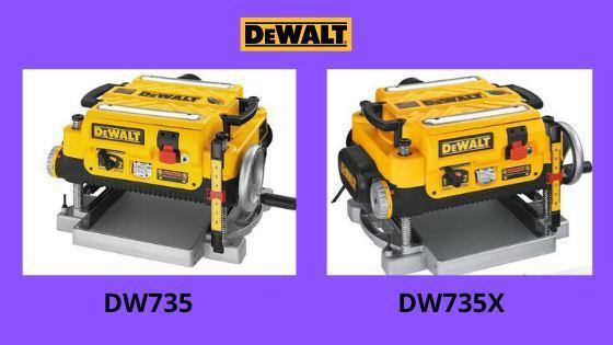 DW735 vs DW735X